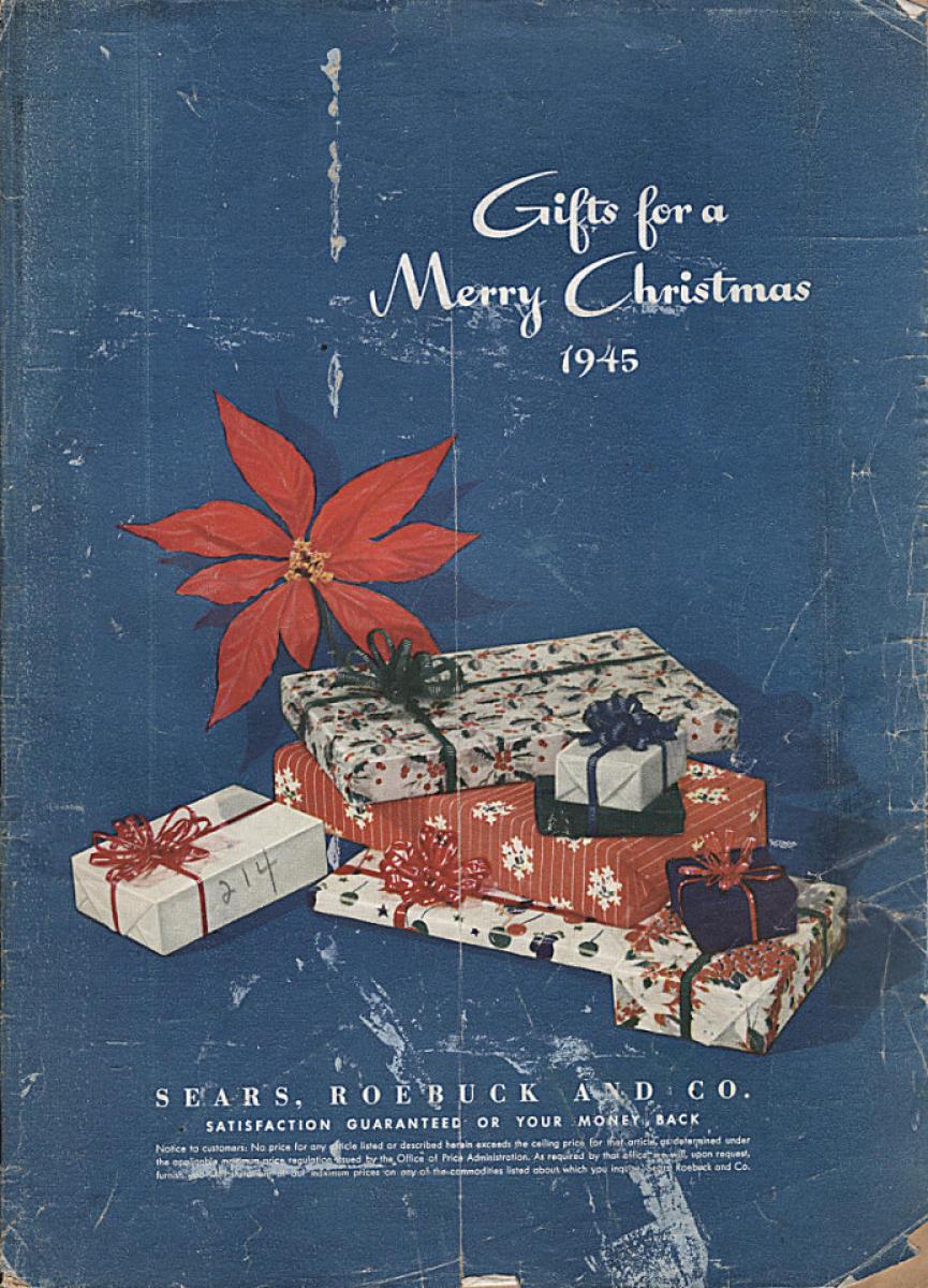 Sears Christmas Catalog.Sears Roebuck And Co Christmas Catalog 1945 At Wolfgang S