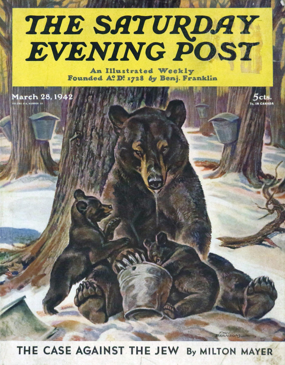 The Saturday Evening Post March 9, 1968 Issue with: LOOK