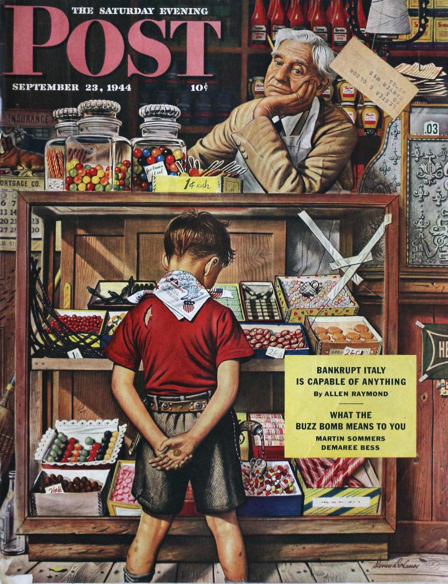 The Saturday Evening Post. 1937 - 05 - 01 | SHORT FICTION