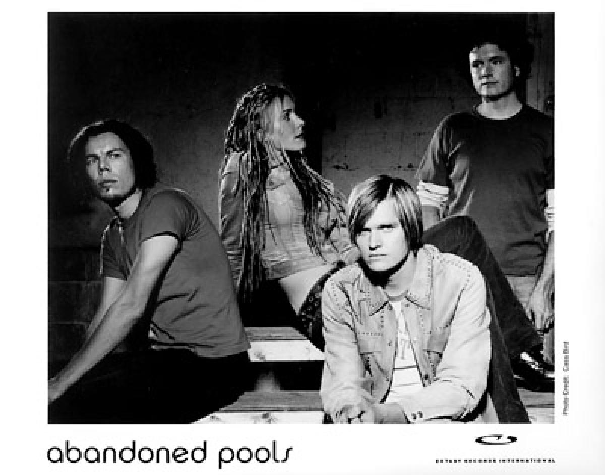 Abandoned Pools Vintage Concert Photo Promo Print At Wolfgang S
