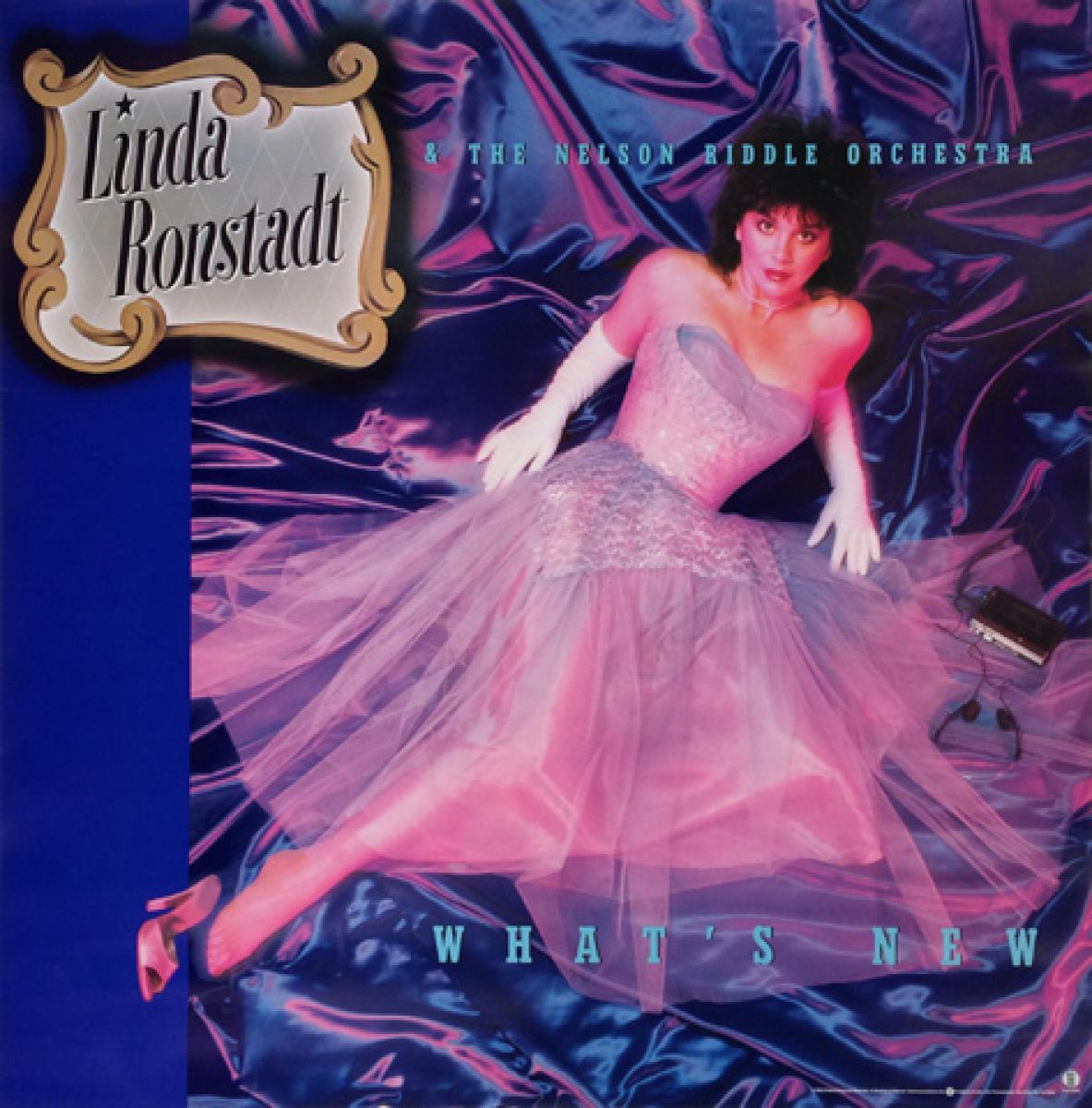 Linda Ronstadt Vintage Concert Poster 1983 At Wolfgang S