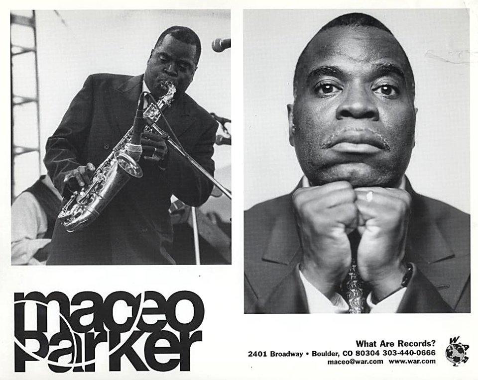 Maceo Parker Promo Print