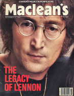 Maclean's Vol. 93 No. 51 Magazine