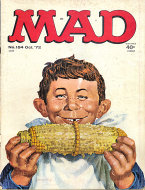 MAD Magazine October 1972 Magazine