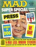 Mad Super Special Summer 1981 Magazine