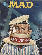 Mad Vol. 1 No. 153 Magazine