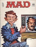 Mad Vol. 1 No. 160 Magazine