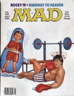 Mad Vol. 1 No. 262 Magazine