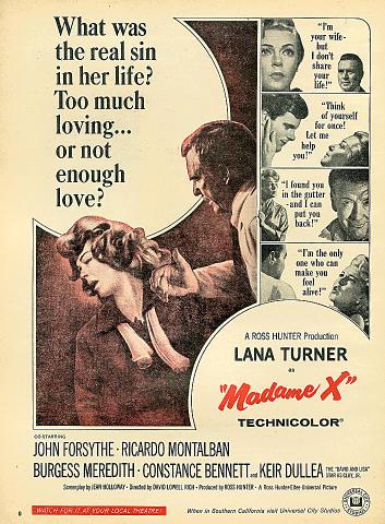 Madame X Vintage Ad