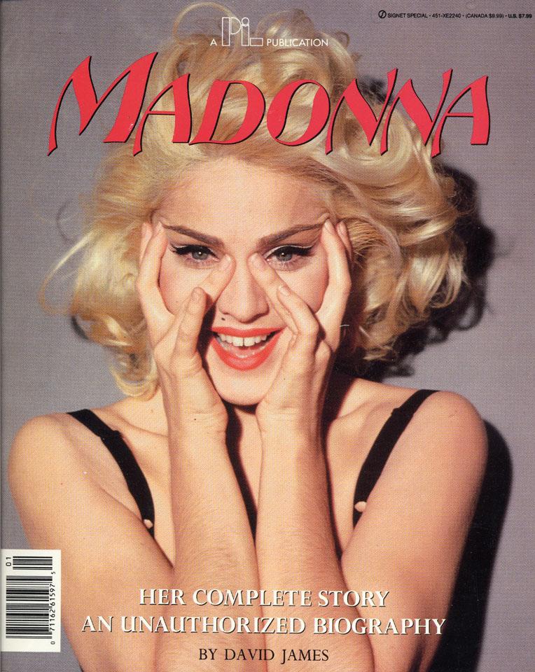 Madonna reverse side