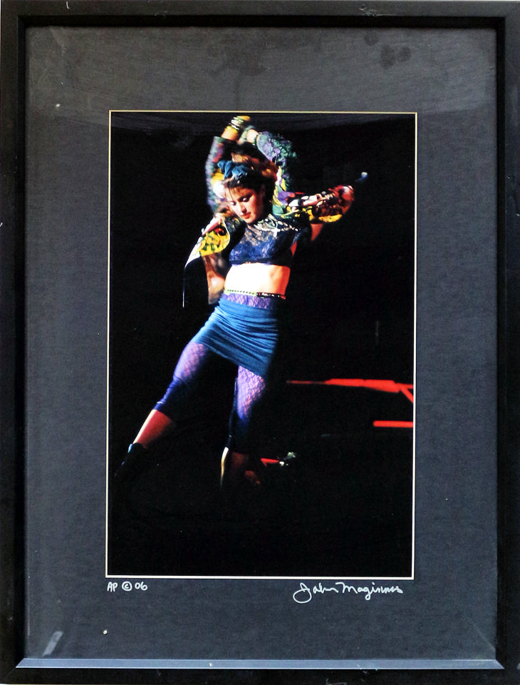 Madonna Framed Vintage Print