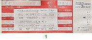 Madonna Vintage Ticket