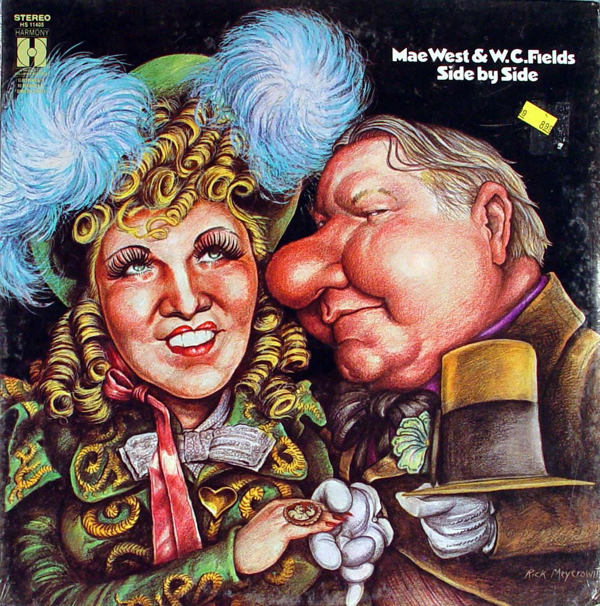 """Mae West & W.C. Fields Vinyl 12"""" (New)"""