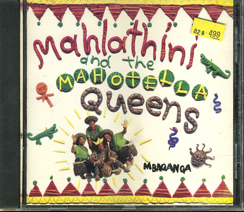 Mahlathini and the Mahotella Queens CD