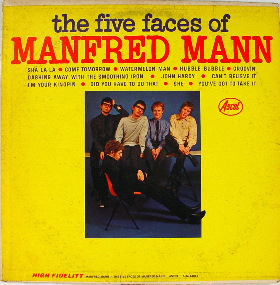 """Manfred Mann Vinyl 12"""" (Used)"""