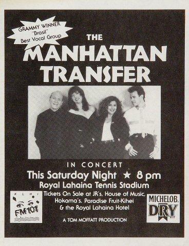 Manhattan Transfer Handbill