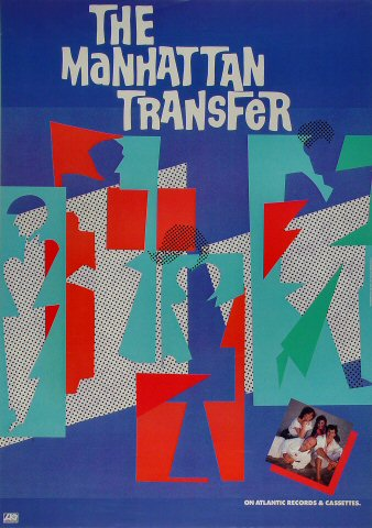 Manhattan Transfer Poster