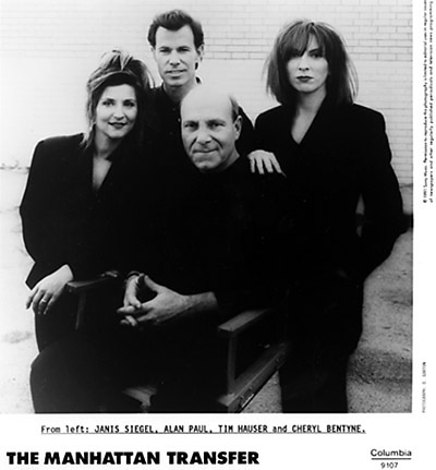 Manhattan Transfer Promo Print