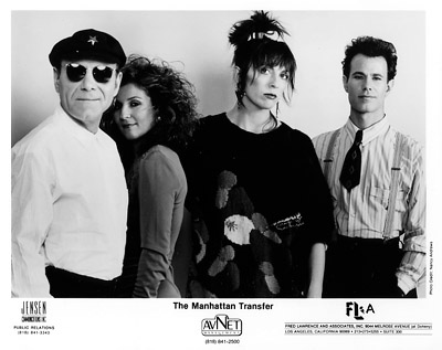 Manhattan Transfer Promo Print