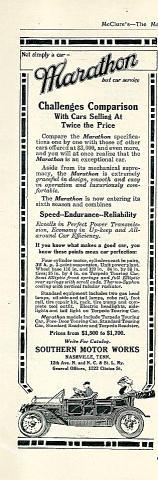 Marathon Vintage Ad