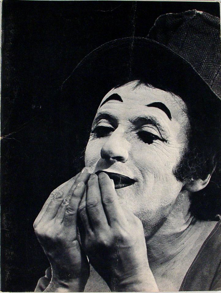 Marcel Marceau Program