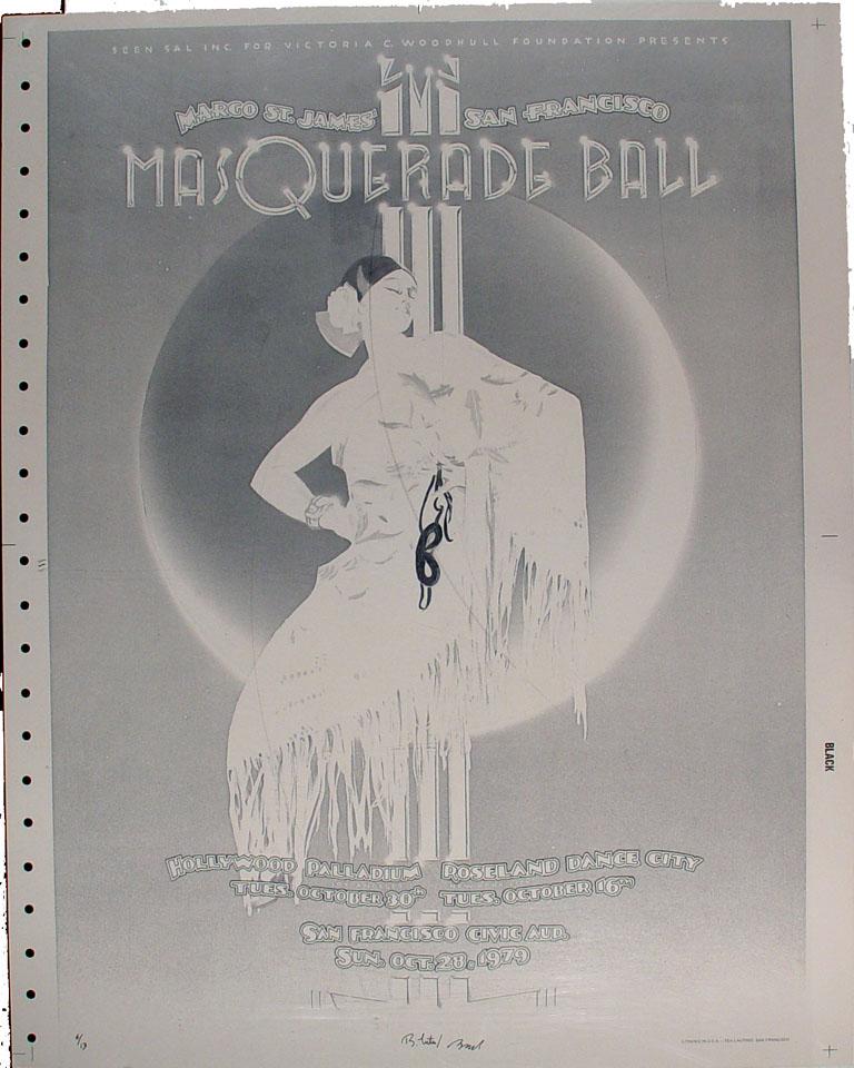 Margo St. James' San Francisco Masquerade Ball Proof