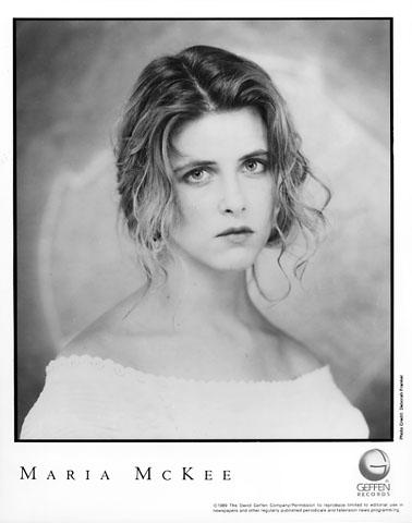 Maria McKee Promo Print