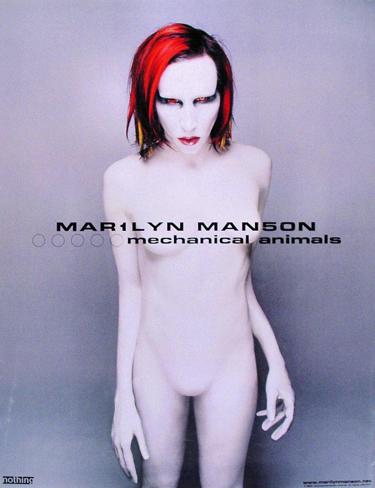 Marilyn Manson Poster