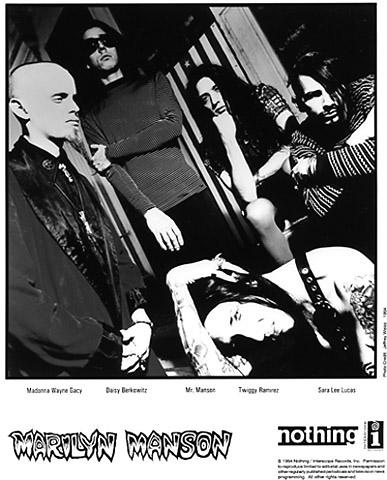 Marilyn Manson Promo Print