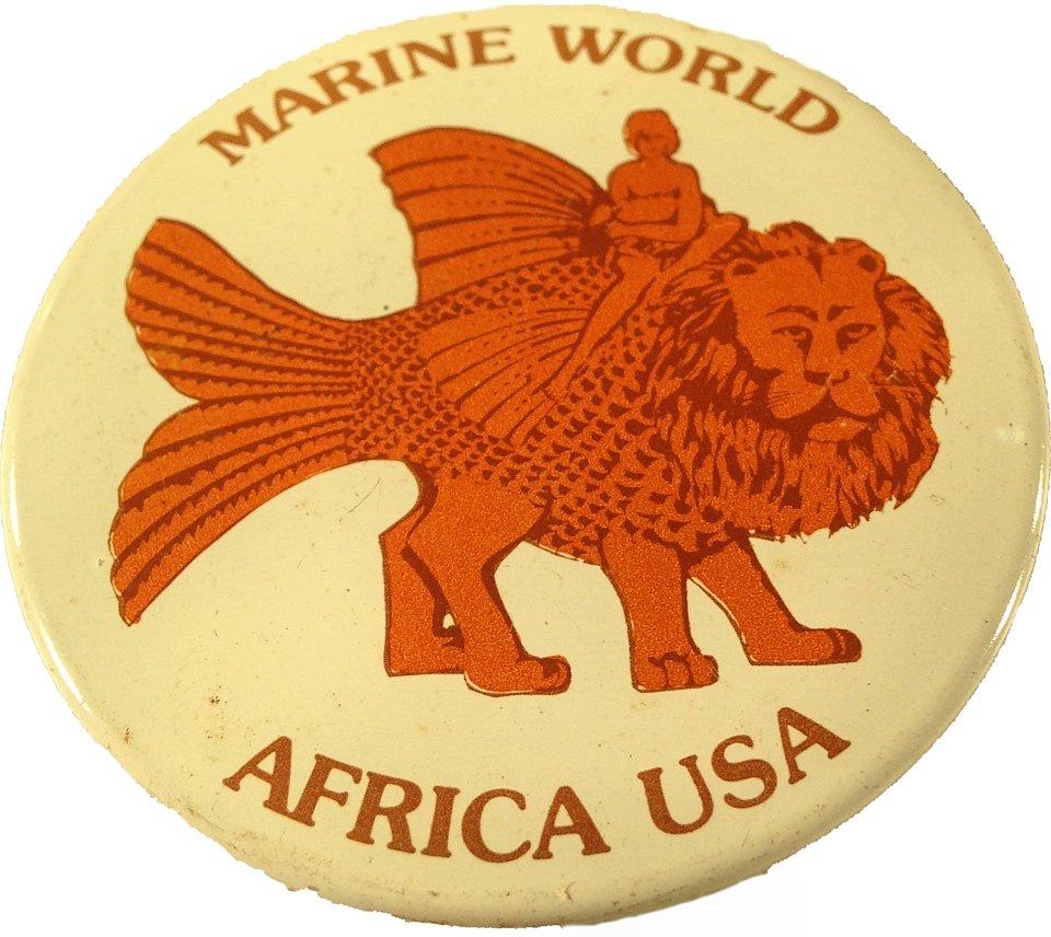 Marine World Africa USA Pin