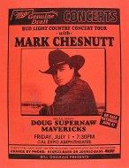 Mark Chesnutt Handbill