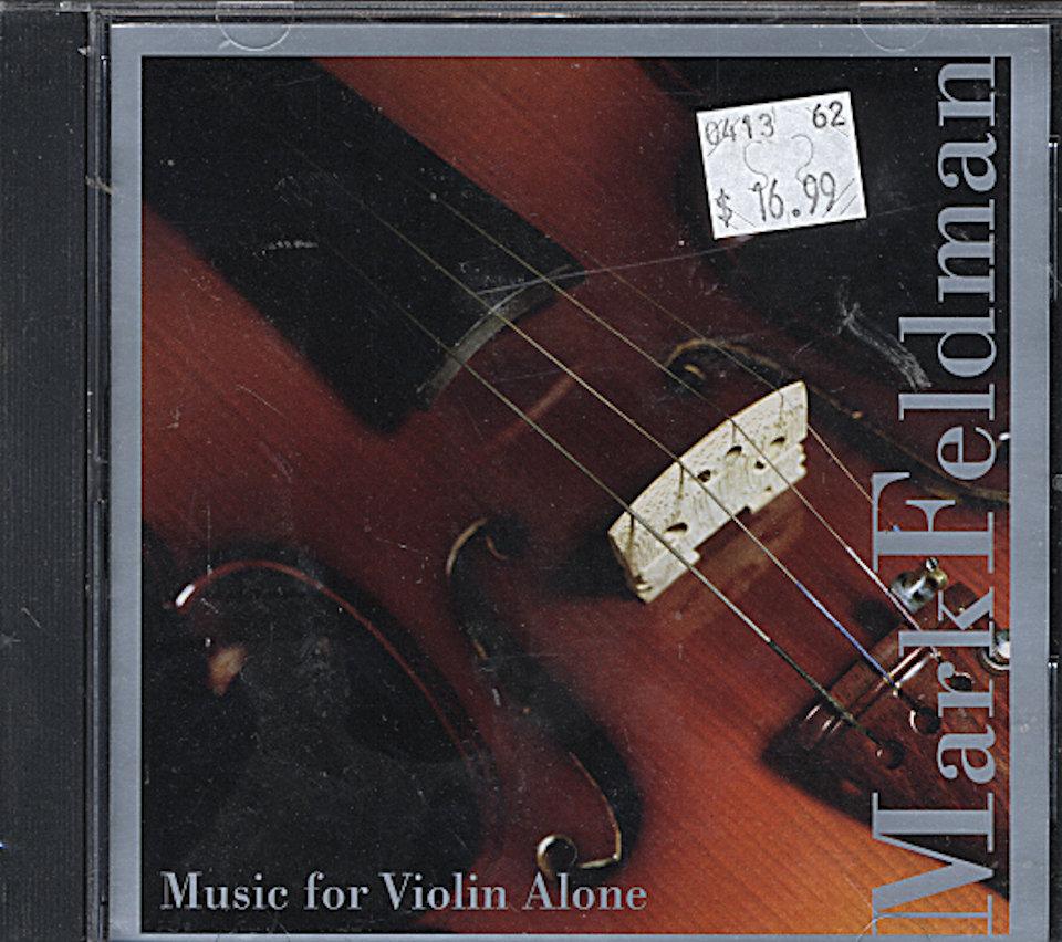 Mark Feldman CD