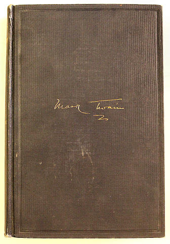 Mark Twain's Autobiography Book
