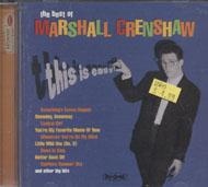 Marshall Crenshaw CD