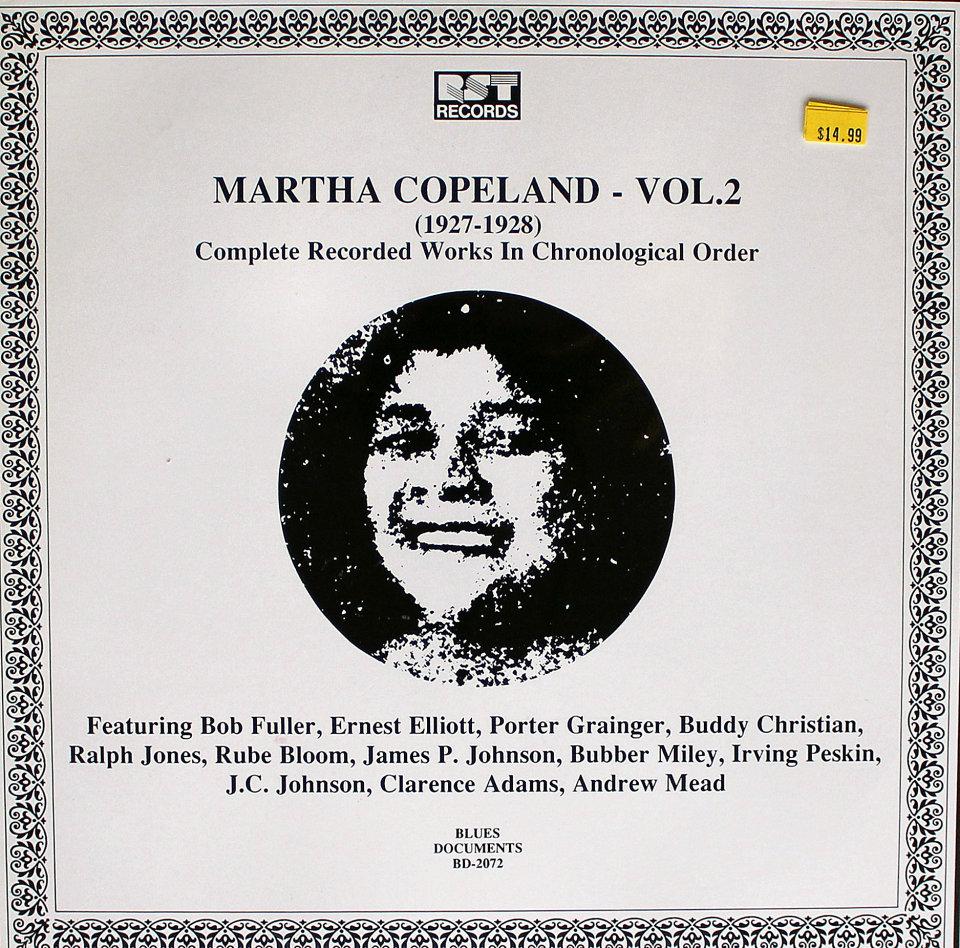 "Martha Copeland Vinyl 12"" (New)"