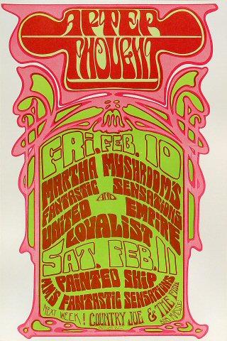 Martha Mushroom's Fantastic Sensations Poster
