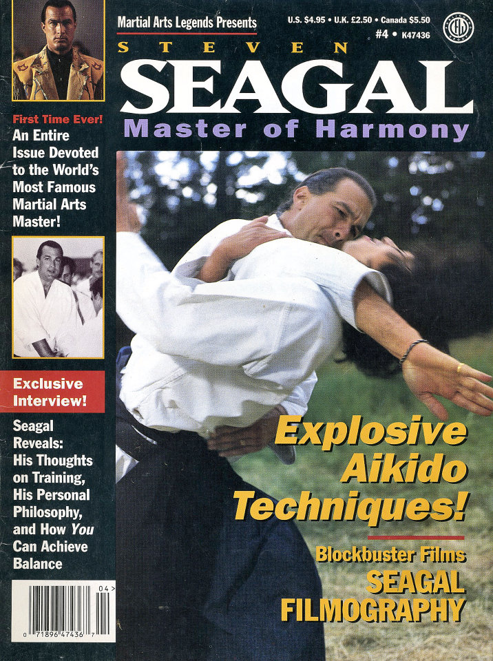 Martial Arts Legends: Steven Seagal