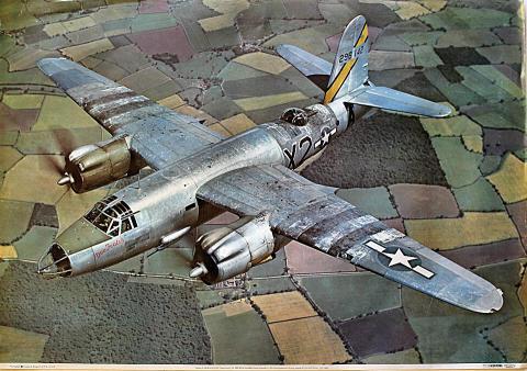 Martin B-26 Marauder 'Dee-Feater' Poster