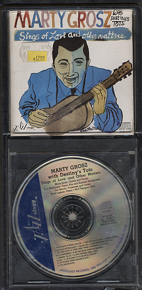Marty Grosz With Destiny's Tots CD