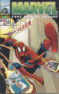 Marvel 1992 Annual Report #2 Comic Book