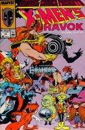 Marvel Comics Presents: The X-Men's Havok Comic Book