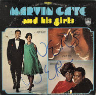"Marvin Gaye and his Girls Vinyl 12"" (Used)"