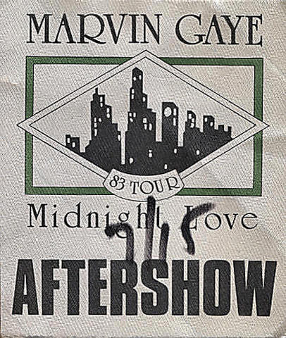 Marvin Gaye Backstage Pass