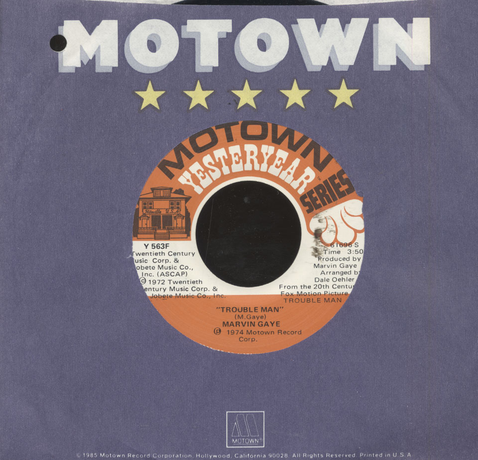 """Marvin Gaye Vinyl 7"""" (Used)"""