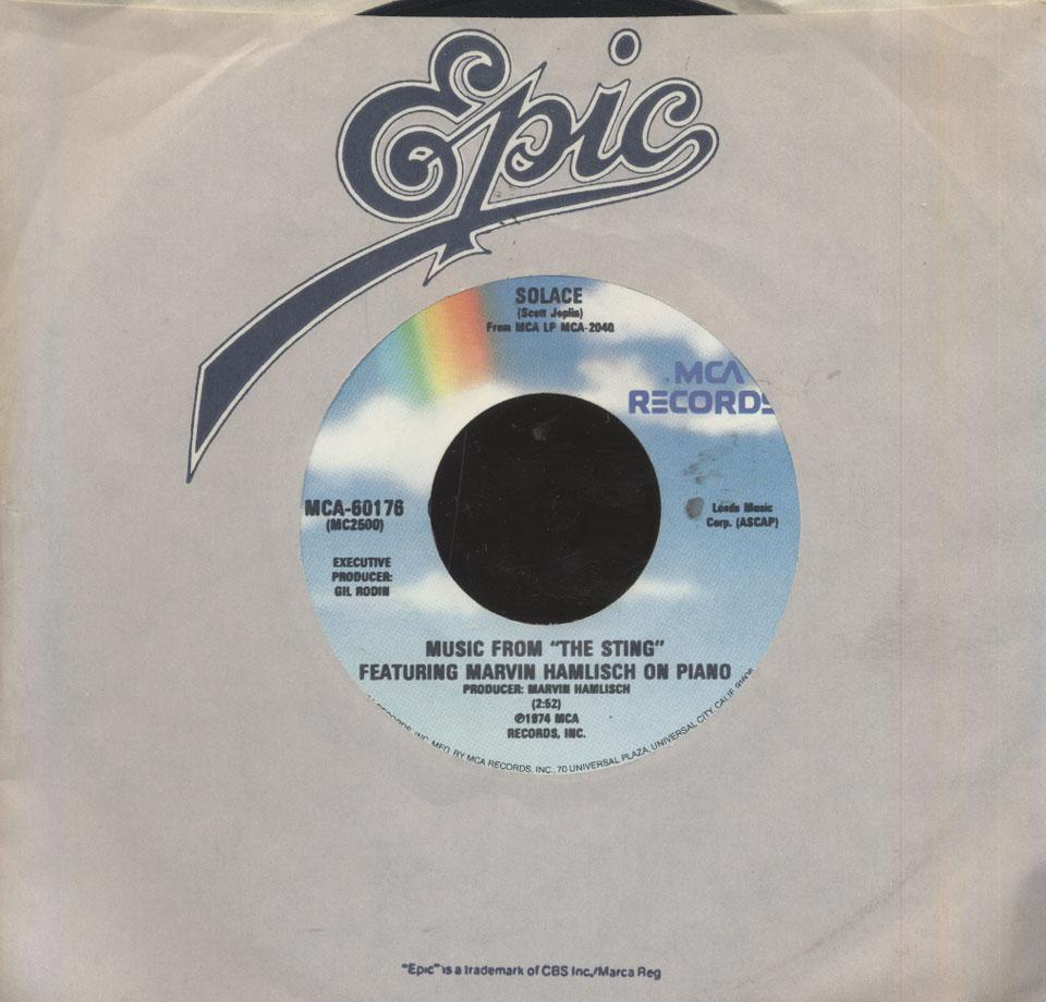 """Marvin Hamlisch Vinyl 7"""" (Used)"""