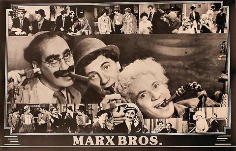 Marx Bros. Poster