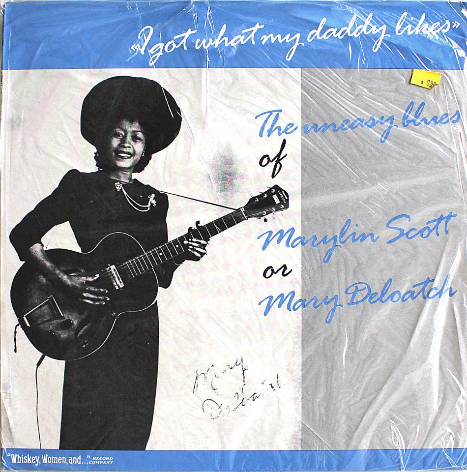 "Marylin Scott Vinyl 12"" (New)"