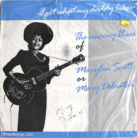"Marylin Scott Vinyl 12"" (New)"