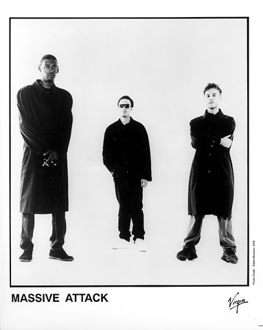 Massive Attack Promo Print