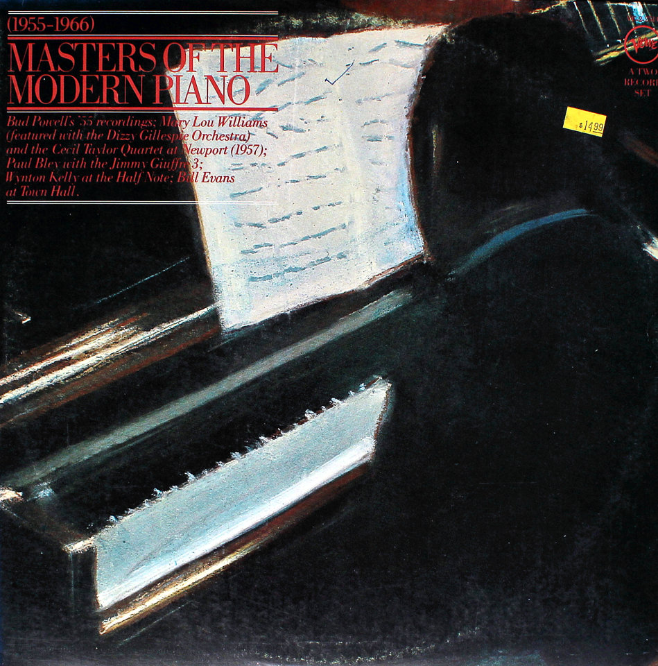 """Masters Of The Modern Piano Vinyl 12"""" (Used)"""